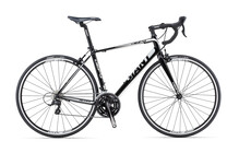 Giant Defy 3 black/white/silver
